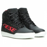 YORK D-WP® SHOES / 08D-DARK-CARBON/RED
