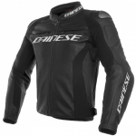RACING 3 LEATHER JACKET / 691-BLACK/BLACK/BLACK