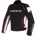 RACING 3 D-DRY JACKET / N32-BLACK/WHITE/FLUO-RED